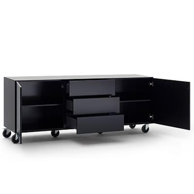 Sideboard schwarz Henri